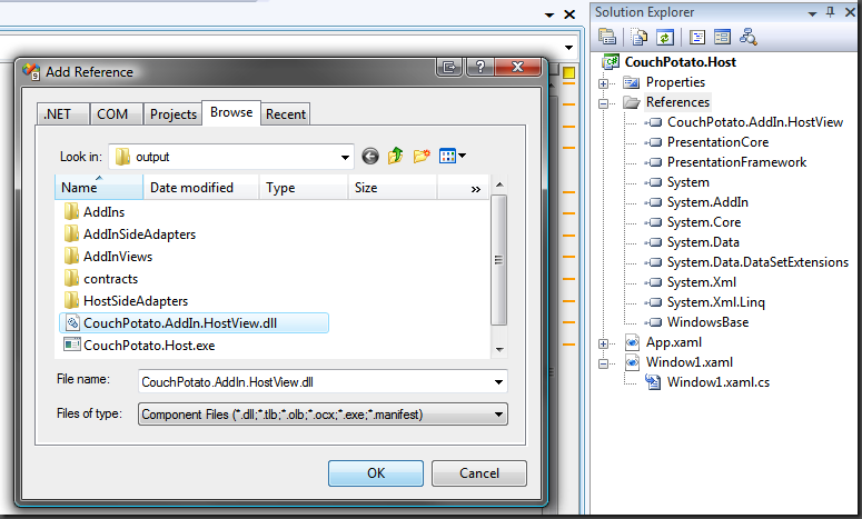 Managed AddIn Framework (System AddIn) with WPF - Matt Hidinger